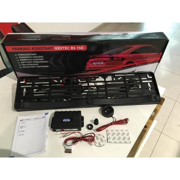 Αισθητήρες Παρκαρίσματος (Parktronic) με ηχητική ειδοποίηση σε πλαίσιο  πινακίδας bs150 e0d3c39409f