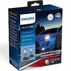 H4 12953BWX2 Philips X-treme Ultinon LED