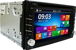 HP-077 2din Multimedia με οθόνη VGA 6.2 GPS
